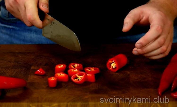 Готовим маринованный острый перец