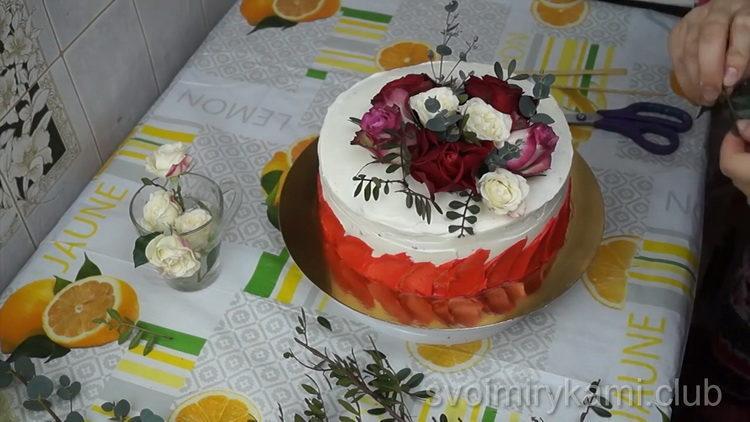 Торт на День Матери по простому пошаговому рецепту с фото