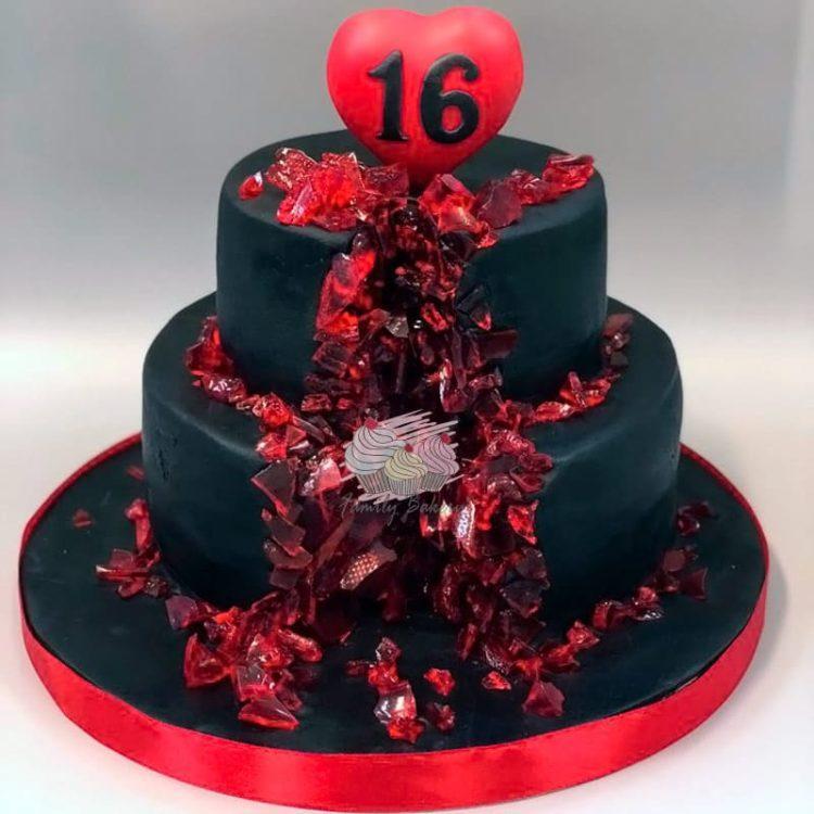 Торт на 17 лет - Лучшие детские торты на день рождения в Москве!   750x750