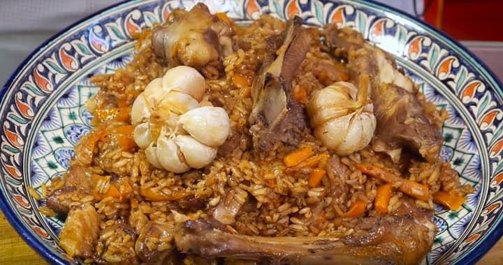 Ферганский плов с рисом 🥝 Девзира