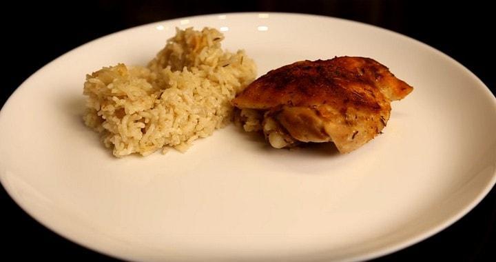 Вкусный рис с курицей 🥝 в духовке