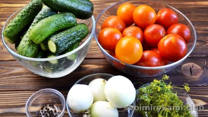 Все овощи хорошо промываем.