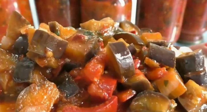 Лучший рецепт заготовки 🥝 баклажан на зиму без стерилизации