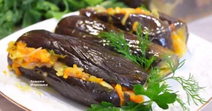 Квашеные баклажаны — быстрый 🥝 и вкусный способ
