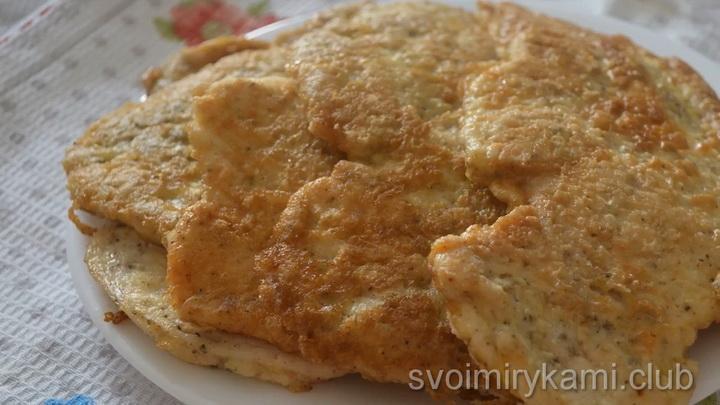 Отбивные из куриного филе по простому пошаговому рецепту с фото