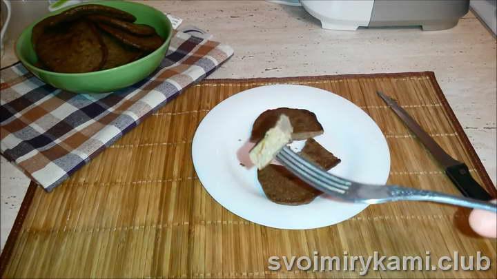 печеночные оладьи из говяжьей печени рецепт
