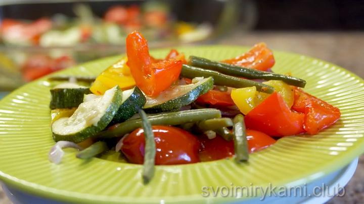 Вкусные и полезные запеченные овощи в духовке