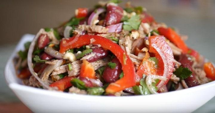 Потрясающе вкусный грузинский 🥝 салат