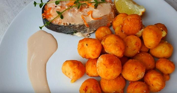 Вкусные картофельные шарики 🥝 — картофель «Буше»