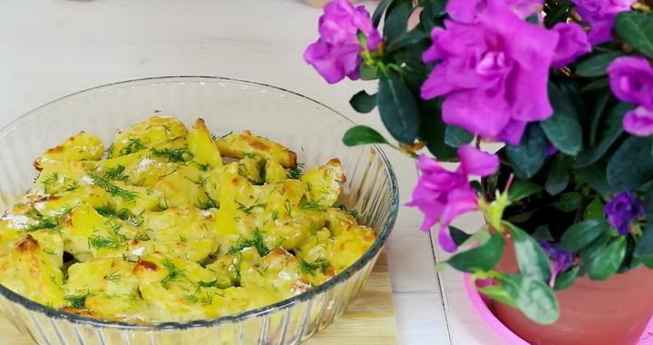 Как быстро и вкусно 🥝 приготовить картошку