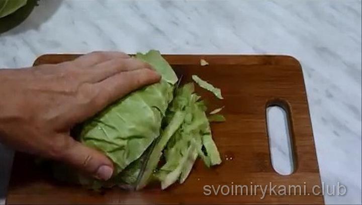 Тушеная капуста с кабачками по простому пошаговому рецепту с фото