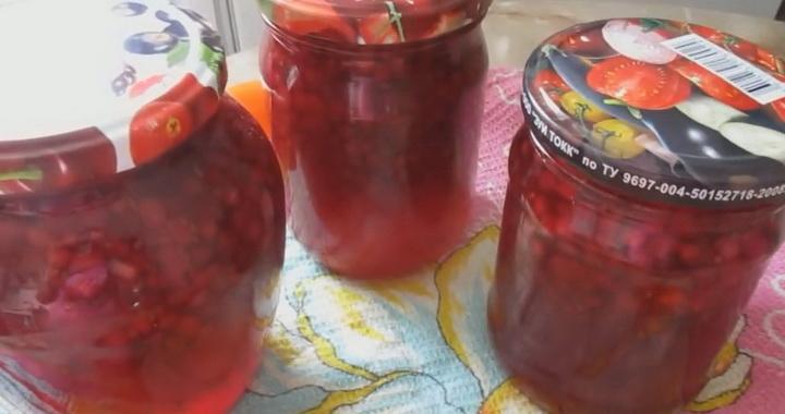 Варенье «Пятиминутка» из красной 🥝 смородины на зиму