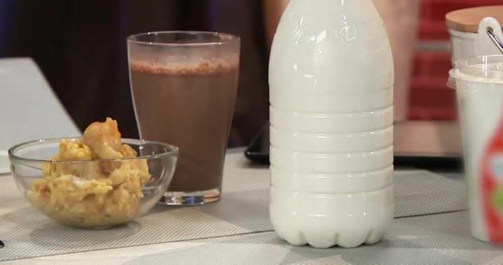 Вкусный завтрак для детей 🥝