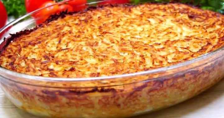 Картофельный кугель — обалденно 🥝 вкусное и простое блюдо