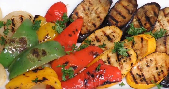 Обалденные овощи на сковороде 🥝 гриль