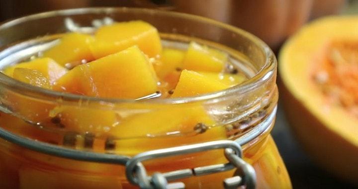 Лучший рецепт заготовки тыквы 🥝 на зиму