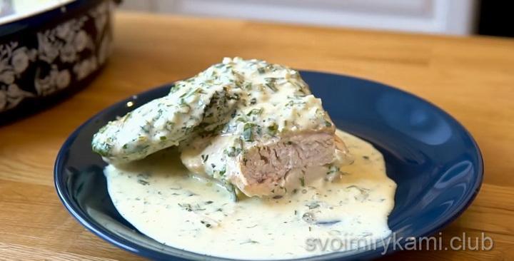 Классический рецепт грузинского блюда Шкмерули