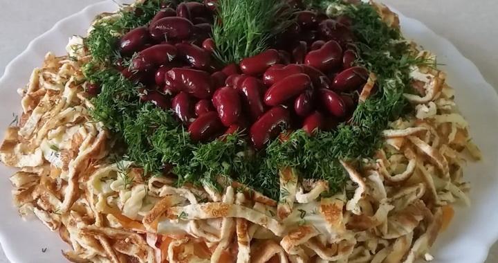 Салат «Сытный» вместо 🥝 целого ужина