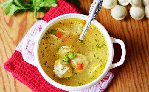 Суп с пельменями и картошкой 🥝 сварить пошагово