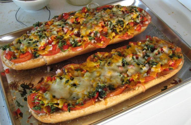 Как готовить бутерброды и пиццу