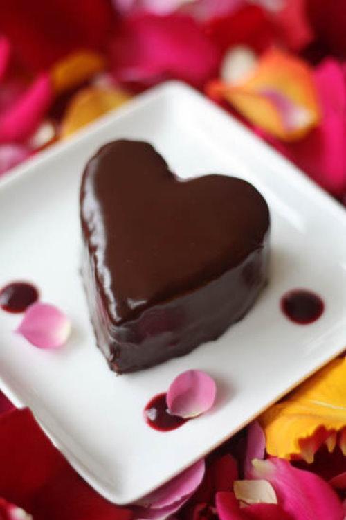 Рецепт шоколадного суфле на день Влюбленных