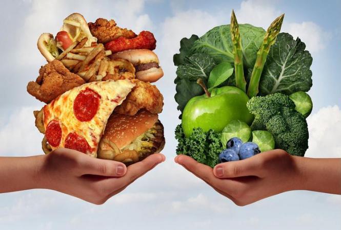3 принципа здорового питания